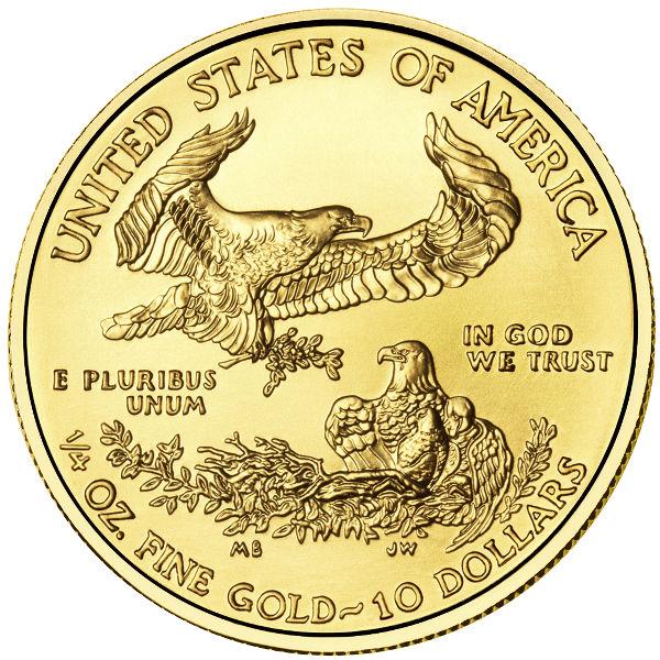 1 4 Oz American Gold Eagle Random Year