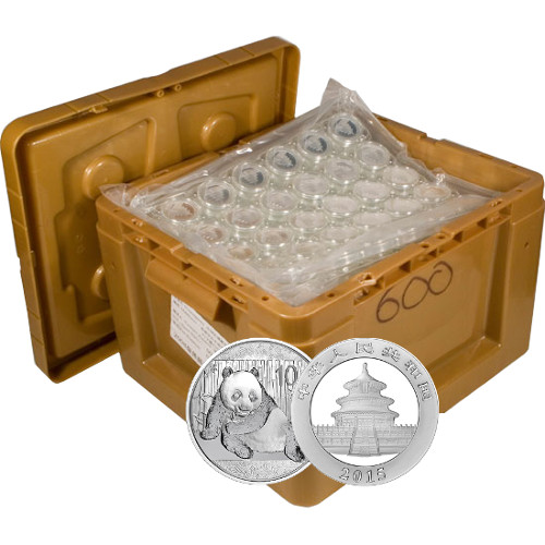 Buy 2015 Chinese Silver Panda Monster Box 600 Coins L Jm
