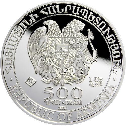 Buy 2015 1 Oz Armenian Silver Noah S Ark Coins Bu L Jm