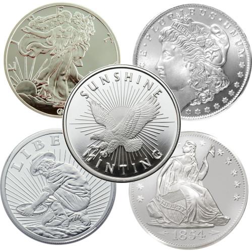 Buy 1 2 Oz Silver Online 999 Varied Jm Bullion
