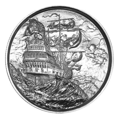 Buy 2 Oz Privateer Ultra High Relief Silver Rounds 166 Jm