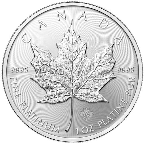 Buy 2015 1 Oz Canadian Platinum Maple Leafs New Jm