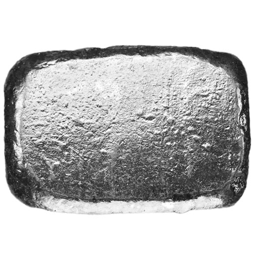 1 Oz Silver Bar In Hand