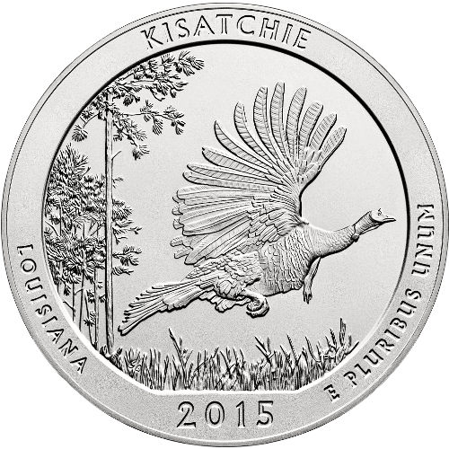 Buy 2015 5 Oz Atb Kisatchie Silver Coins New Jm Bullion