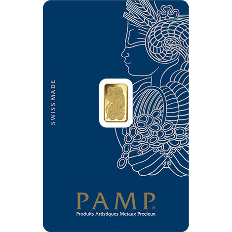 Buy 1 Gram Pamp Suisse Veriscan Gold Bars Brand New L Jm