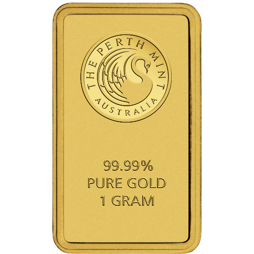 Buy 1 Gram Perth Mint Gold Bars Online L Jm Bullion