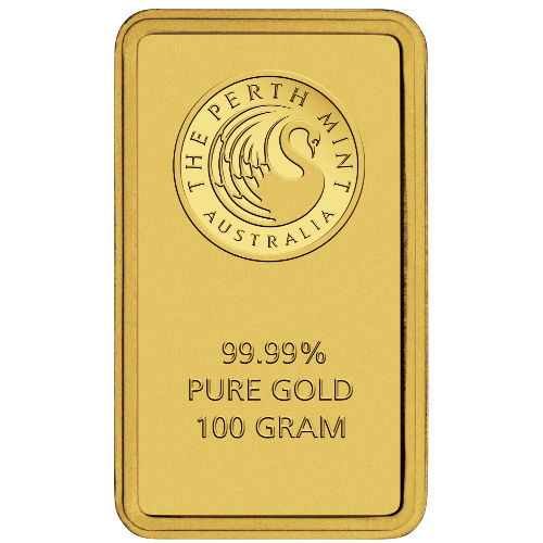 Buy 100 Gram Perth Mint Gold Bars Online L Jm Bullion
