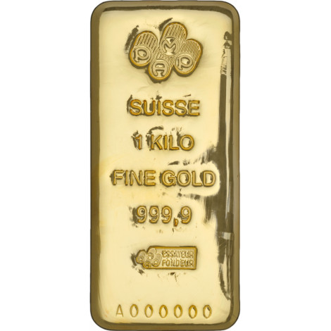 Buy 1 Kilogram Pamp Suisse 9999 Gold Cast Bars Jm Bullion