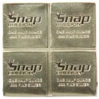2 oz silver snap bar