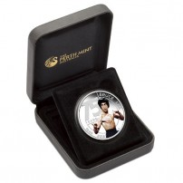 2015 1 oz Silver Bruce Lee Coin Box