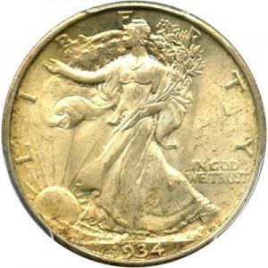 1934 Walking Liberty Half Dollar Value Jm Bullion