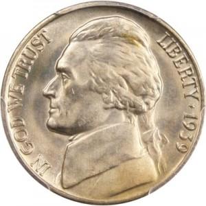 1939 Jefferson Nickel Value Jm Bullion