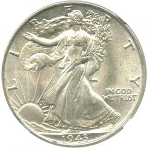1943 Walking Liberty Half Dollar Value Jm Bullion