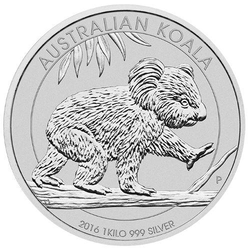 Buy 2016 1 Kilo Australian Silver Koala Coins Online L Jm