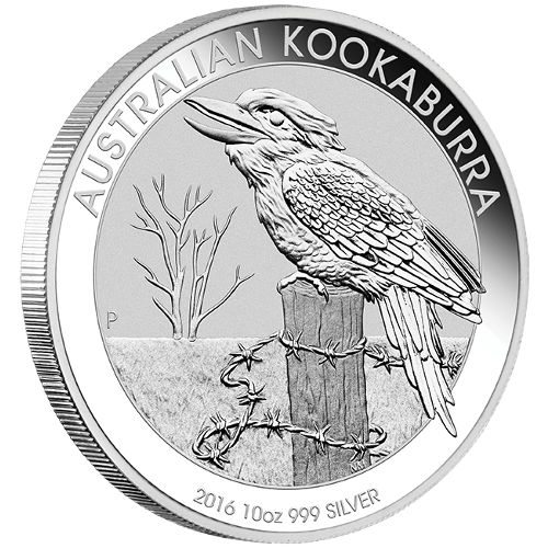 Buy 2016 10 Oz Australian Silver Kookaburras L Jm Bullion