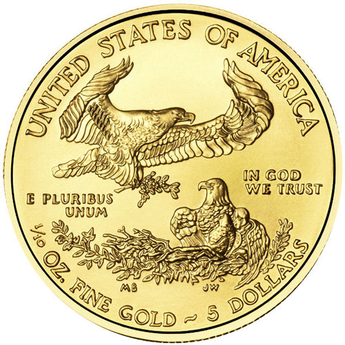 Buy 2016 1 10 Oz American Gold Eagles New Jm Bullion