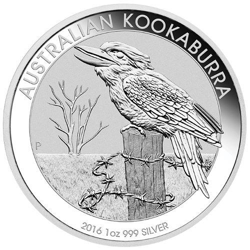 Buy 2016 1 Oz Australian Silver Kookaburra Coins L Jm Bullion