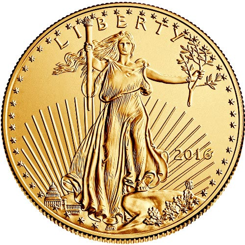 Buy 2016 1 Oz American Gold Eagles Jm Bullion