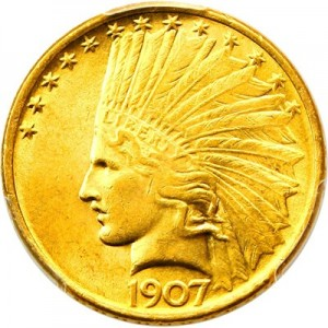 Indian Head 10 Gold Coin 1907 1933 Value Jm Bullion