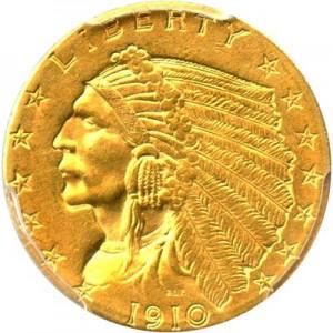 Indian Head 2 5 Gold Coin 1908 1929 Value Jm Bullion
