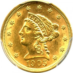Liberty Head 2 5 Gold Coin 1840 1907 Value Jm Bullion