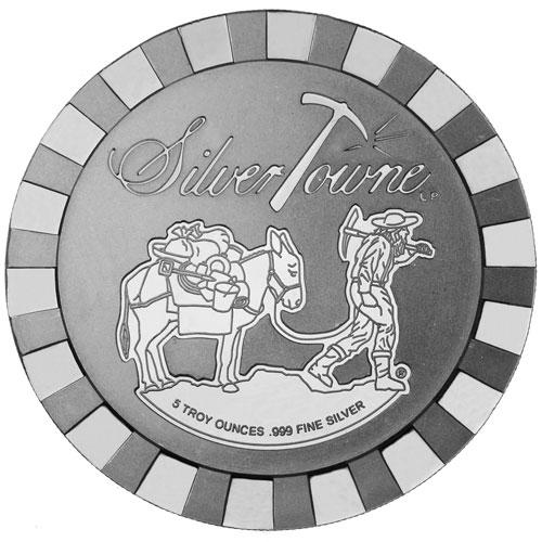 5 oz SilverTowne Stackable Round