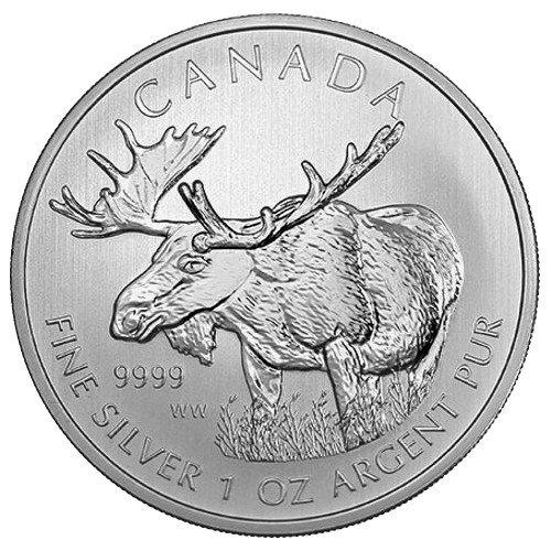 Buy 2012 Canadian Silver Moose Coins Online L Jm Bullion