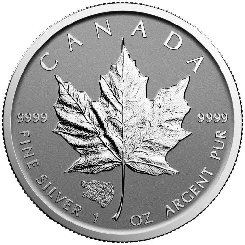 2016 Grizzly Bear Privy Canadian Silver Maple Leaf L Jm