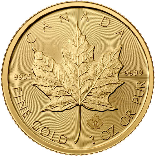 Buy 2016 1 Oz Canadian Gold Maple Leafs Online Jm Bullion