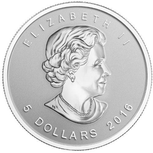 Buy 2016 Wolf Privy Canadian Silver Maple Leafs L Jm Bullion