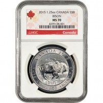 2015-silver-canadian-bison-1.25-oz-ngc-ms70-reverse