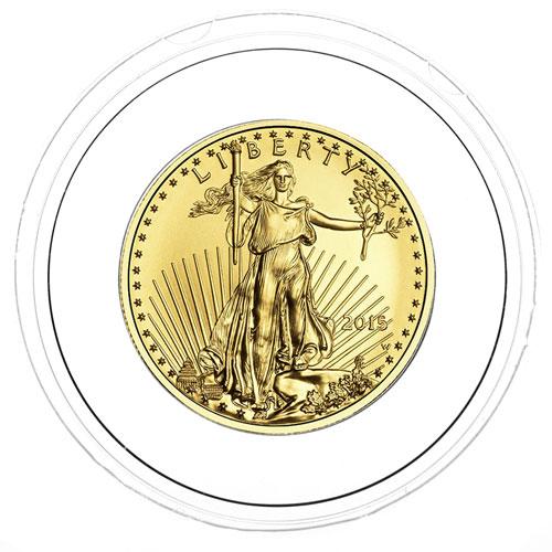 Air Tite 16mm Black Ring Bust 1 /&World 1//10 oz Gold Coin Capsule Half Dime