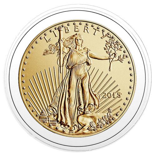 Lunar Gold ~12 Direct Fit 32mm Coin Capsule For Australian 1 oz Series l