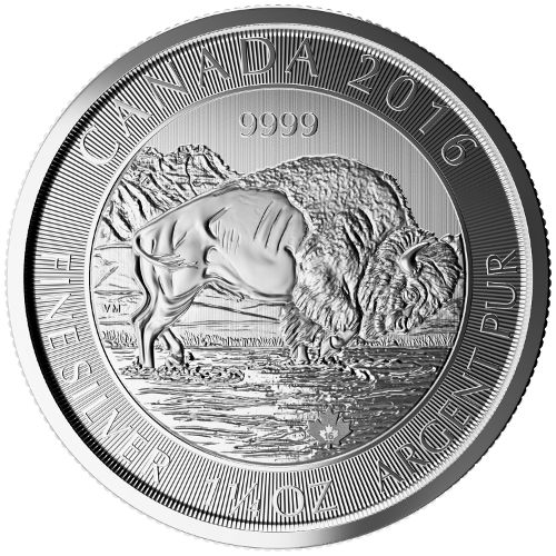 NPI-2788 2016 $8 1.25oz AG Bison reverse rev2