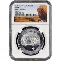 2016-1.2-oz-silver-canadian-bison-ngc-ms69-er-obv