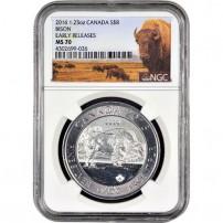 2016-1.2-oz-silver-canadian-bison-ngc-ms70-er-obv