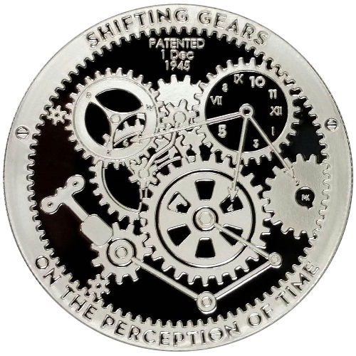 Buy 1 Oz T I M E Series Shifting Gears Silver Rounds New