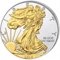 2016-silver-american-eagle-gilded
