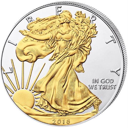 2016 S Silver Eagle Struck At San Francisco Ngc Ms69