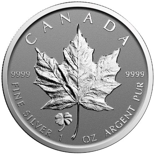2016 Four Leaf Clover Privy Canadian Silver Maple Leaf L