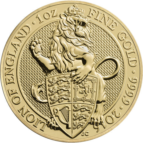 Buy 2016 1 Oz British Gold Queen S Beast Coins Online L Jm