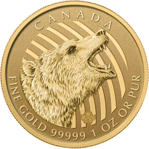 Buy 2016 1 Oz Canadian Gold Roaring Grizzly Online Jm
