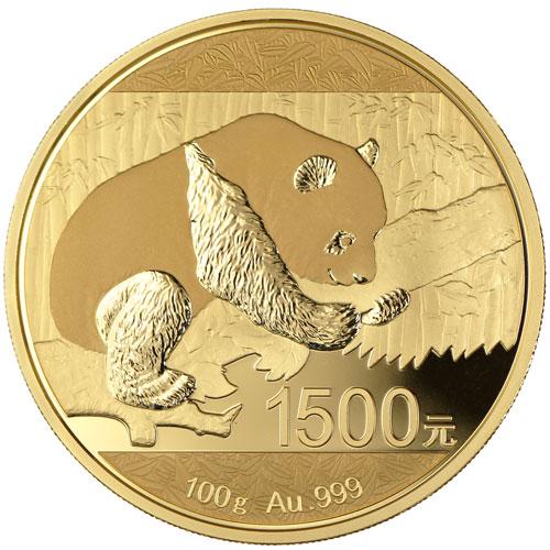 2016 100 Gram Proof Chinese Gold Panda Coin Box Coa