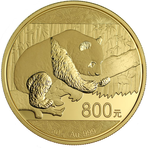 Buy 2016 50 Gram Proof Chinese Gold Panda Coins Online L