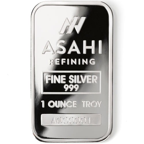 Buy 1 Oz Asahi Silver Bars Online First 1 000 Struck