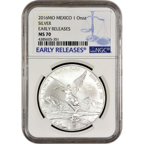 2014 1 oz Mexican Silver Libertad Coin (BU)