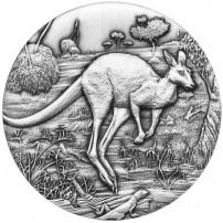 2016-2-oz-silver-australian-antiqued-kangaroo-rev