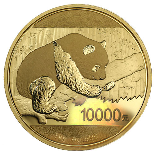 1 Kilo Proof Chinese Gold Panda Coins