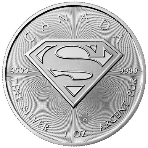 Buy 2016 1 Oz Canadian Silver Superman Shield Coin