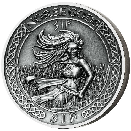 Buy 2016 2 Oz Cook Islands Silver Norse Gods Sif Coins L